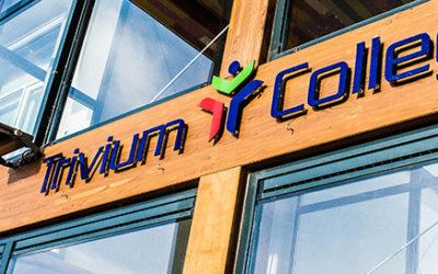 Het VMBO Trivium College is in een week tijd omgeschakeld naar onderwijs op afstand